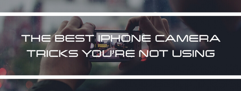 The Best iPhone Camera Tricks You're Not Using